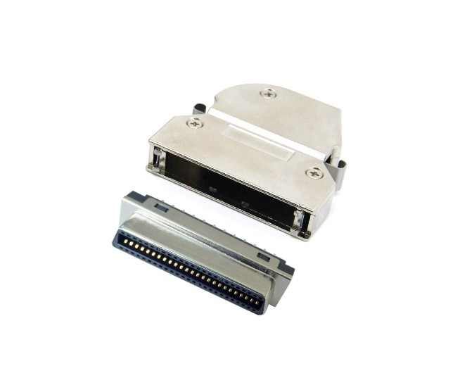 SCSI FEMALE SOLDER ASSEMBLY TYPE  26、36、50、68P
